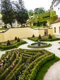 The Vrtba Garden in Prague is one of several fine High Baroque gardens in the Czech capital.
