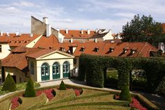 Vrtbovska garden in Prague Royalty Free Stock Photo