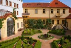 Vrtbovska trädgård Arkivbilder