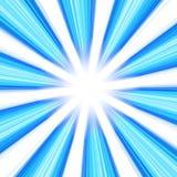 Vórtice abstracto azul Fotos de archivo