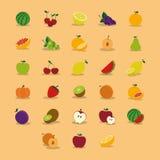 Vruchten Royalty-vrije Stock Afbeeldingen