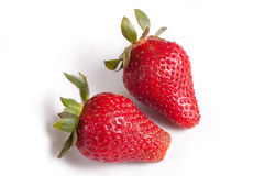 vruchten - Aardbeien Royalty-vrije Stock Foto