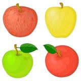 Vruchten, appelen Royalty-vrije Stock Afbeelding