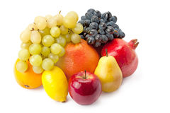 Vruchten in assortiment Stock Afbeelding