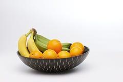 Vruchten in een kom royalty-vrije stock foto