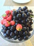Vruchten en bessen stock foto