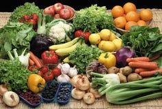 Vruchten en groente Stock Afbeelding