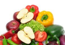 Vruchten en groente Royalty-vrije Stock Fotografie
