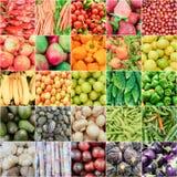 Vruchten en Groente Stock Foto's