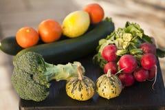 Vruchten en groenten Stock Foto