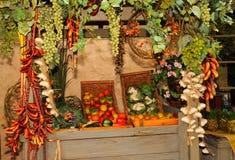 Vruchten en Groenten Royalty-vrije Stock Afbeeldingen