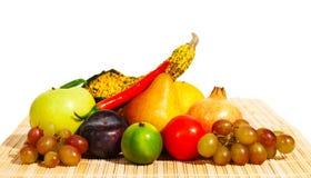 Vruchten en groenten - stilleven Stock Foto