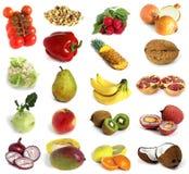 Vruchten en noten Royalty-vrije Stock Afbeelding
