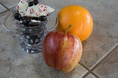 Vruchten en suikergoed Royalty-vrije Stock Afbeeldingen