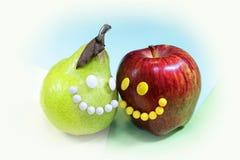 Vruchten Gezond voedsel Royalty-vrije Stock Afbeeldingen