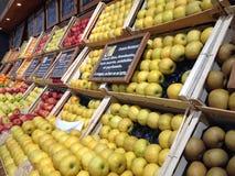 Vruchten hoek Stock Foto
