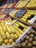 Vruchten hoek Stock Foto's