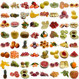 Vruchten inzameling. Royalty-vrije Stock Fotografie