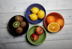 Vruchten in kommen Royalty-vrije Stock Foto