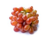 - - Vruchten op bruin hooi worden geplaatst dat Stock Foto's