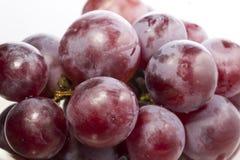 - - Vruchten op bruin hooi worden geplaatst dat Stock Fotografie