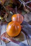 Vruchten van de herfst, dadelpruim Stock Fotografie