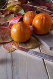 Vruchten van de herfst, dadelpruim Royalty-vrije Stock Afbeelding