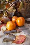 Vruchten van de herfst, dadelpruim Royalty-vrije Stock Fotografie