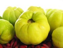 Vruchten van kweeperen royalty-vrije stock foto