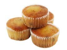 Vruchtencake in de bakselkop Stock Fotografie