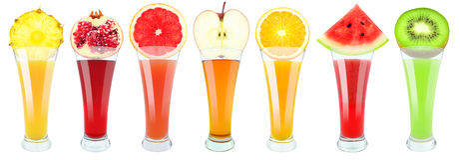 Vruchtensappen Royalty-vrije Stock Afbeelding
