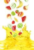 Vruchtesap stock afbeelding