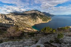 Free Vruja Bay - One Of The Most Beautiful Bays In Dalmatia Stock Photography - 168905232