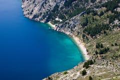 Vrulja beach near Brela Croatia Stock Photo