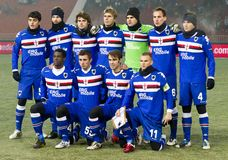vs 2 (1) sampdoria Debrecen fotografia stock