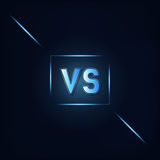 VS Dark Blue Background. Vector Stock Photography