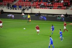vs Denmark piłka nożna Greece Obraz Stock