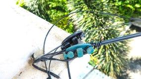 2 VS firmy narzędzia wyposażenia włókna światłowodowego linia WIFI w domu Zdjęcia Stock