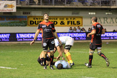 vs Toulon usap Obraz Stock