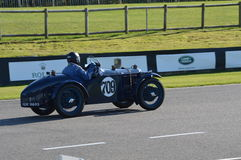 VSCC Autumn Sprint at Goodwood. Royalty Free Stock Images