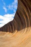 västra Australien rockwave Royaltyfri Fotografi