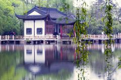 västra lake Royaltyfri Bild