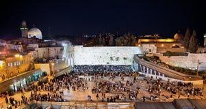 Västra vägg, Jerusalem, Israel Fotografering för Bildbyråer