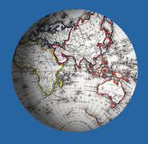 västra värld för halvklot Royaltyfria Foton