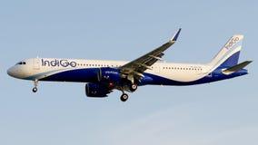 VT-IUA IndiGo Airlines, Airbus A321-271NX stock photo