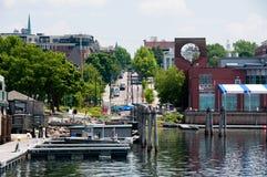 VT van Burlington waterkant stock afbeelding