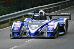 Vítek Petr racing at Rampa da Falperra 2012 Royalty Free Stock Images