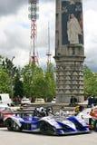 Vítek Petr's car at Rampa da Falperra 2012 Stock Photo