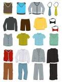 Vêtements d'école pour des garçons Images stock