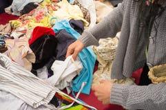 Vêtements d'occasion Image libre de droits